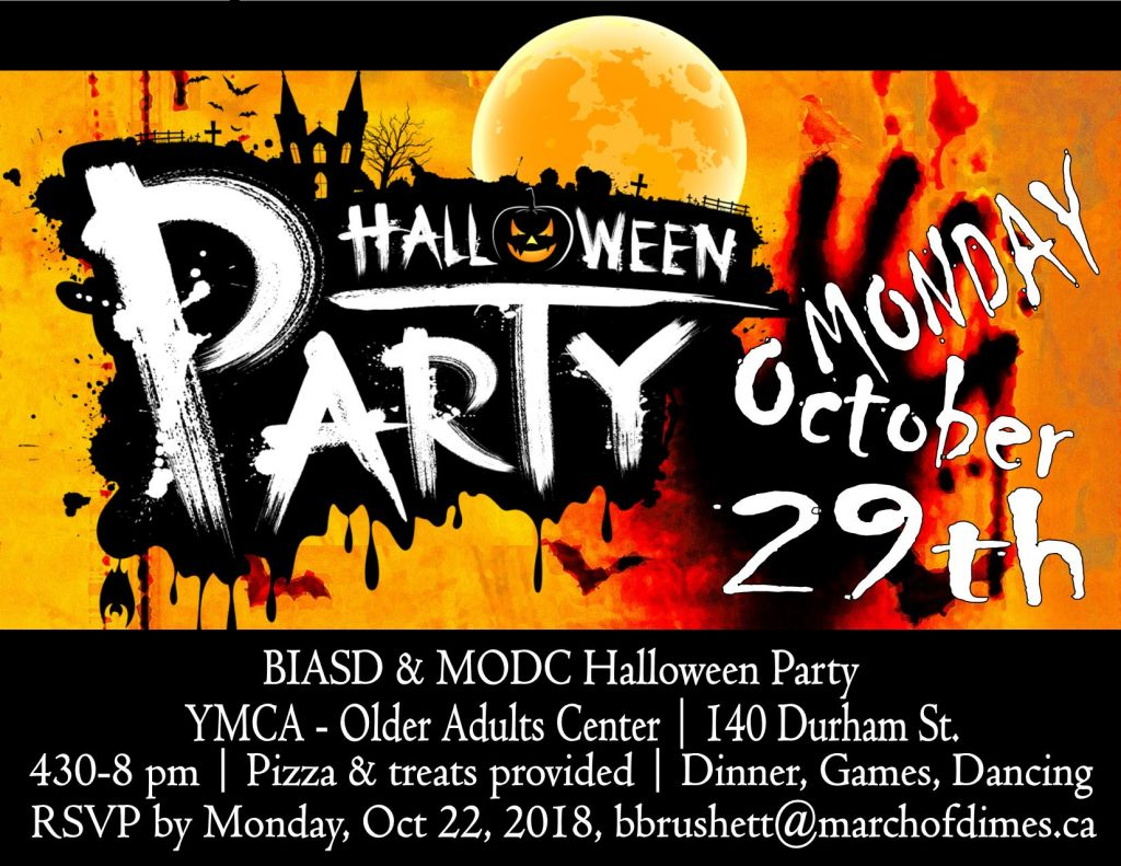 halloween party – brain injury association of sudbury & district